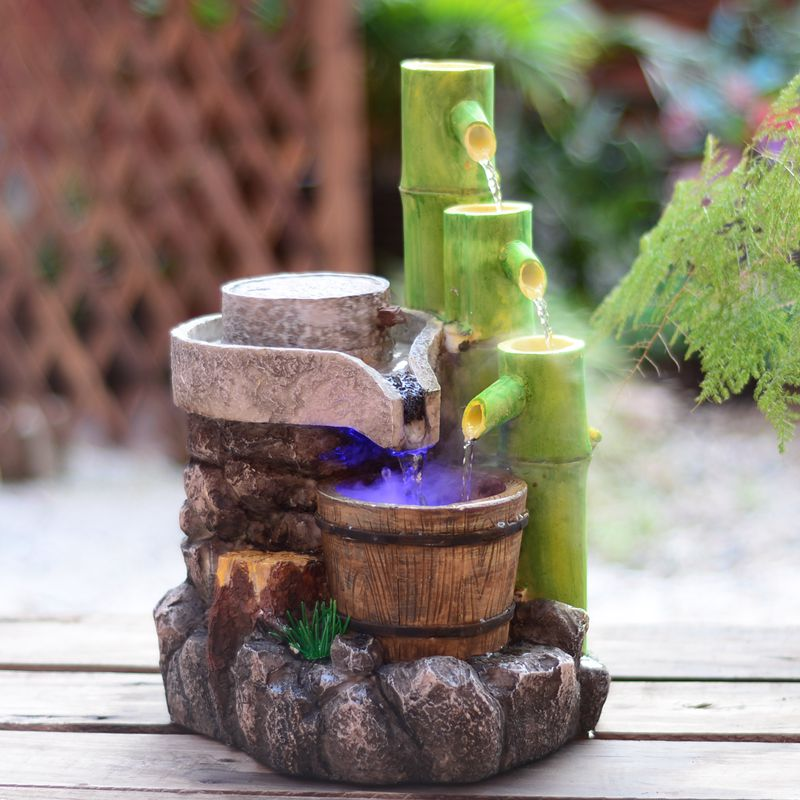 Image of: Bamboo Fountain Small