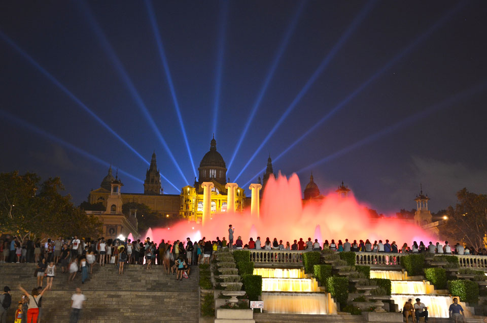 Image of: Barcelona Magic Fountain Tickets
