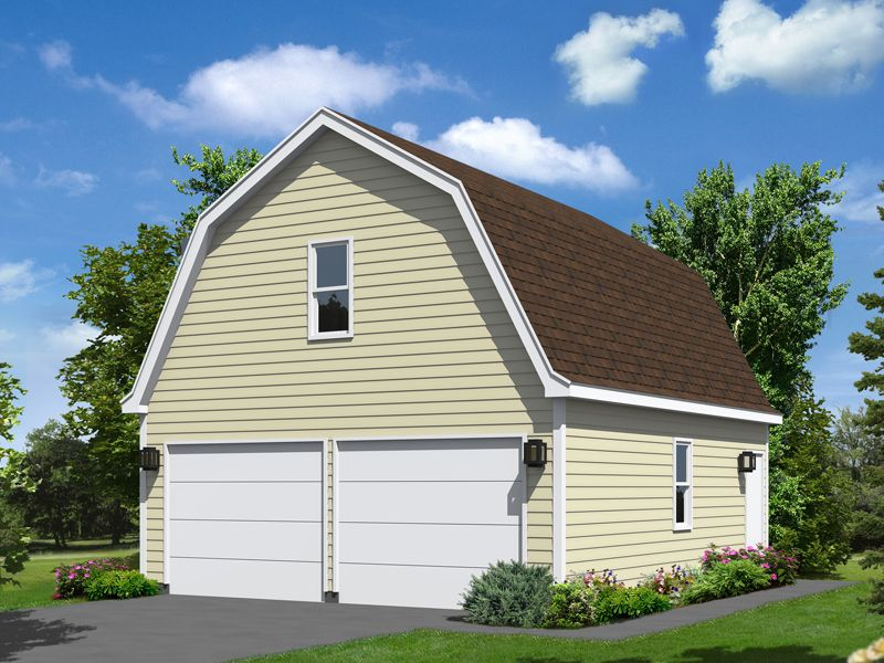 Image of: Barn Roofs Garage
