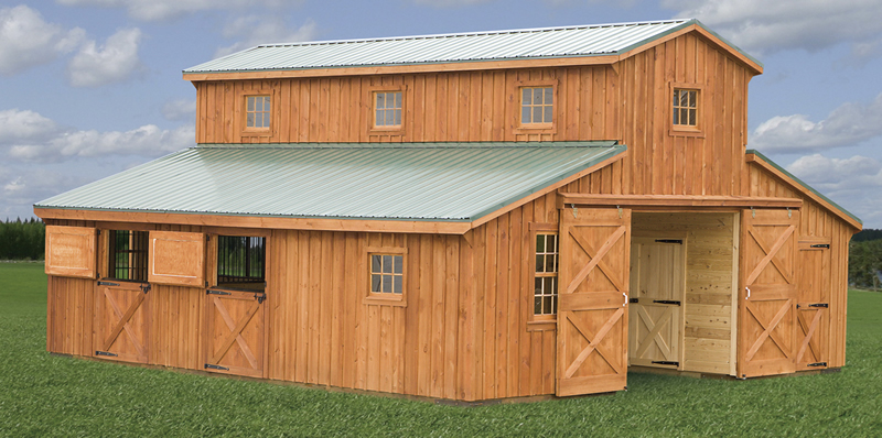 Image of: Barn Roofs Plan