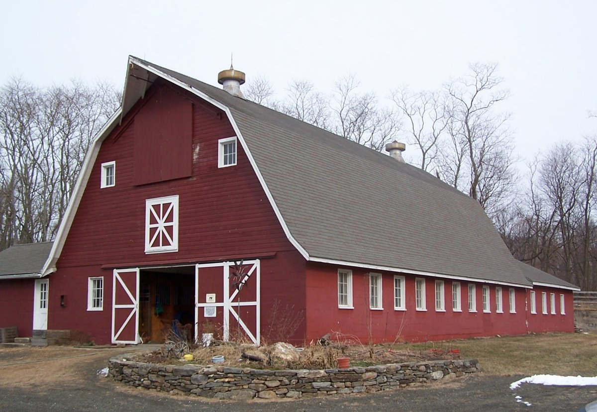 Image of: Barn Roofs Shape