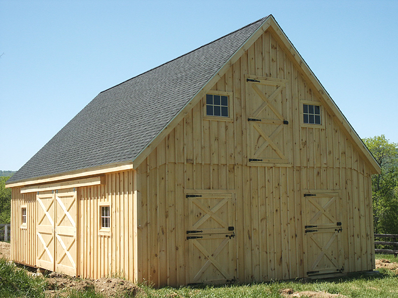 Image of: Barn Roofs Simple