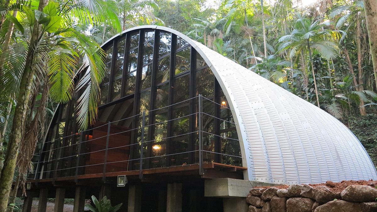 Barrel Roof Dome Prefab