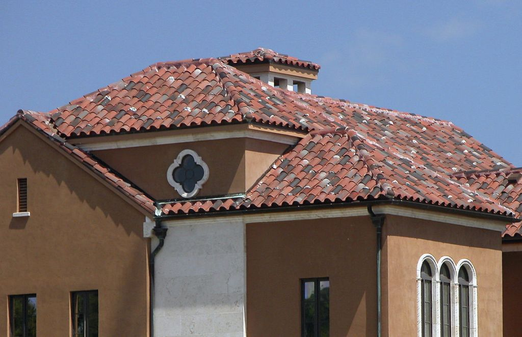 Image of: Barrel Tile Roof Cost