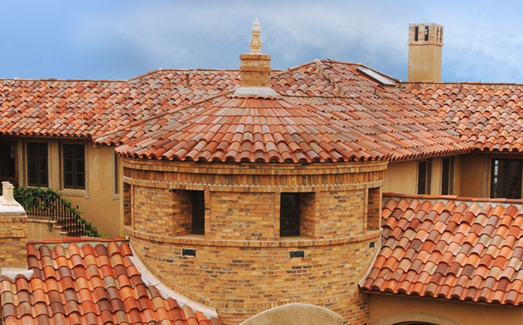 Barrel Tile Roof and Squirrels