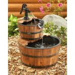 Barrel Water Fountain Size
