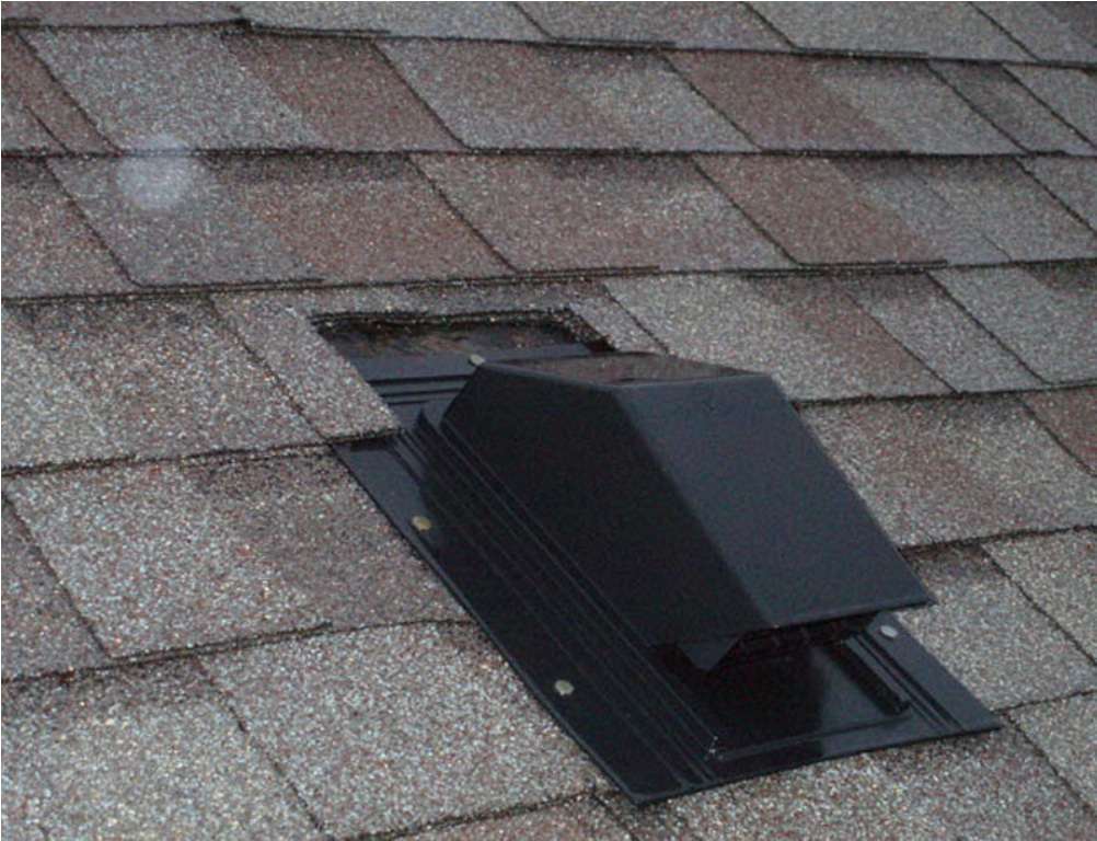 Image of: Bathroom Roof Vent Installation