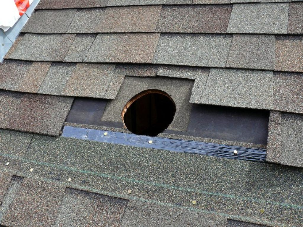 Image of: Bathroom Roof Vent Pipe