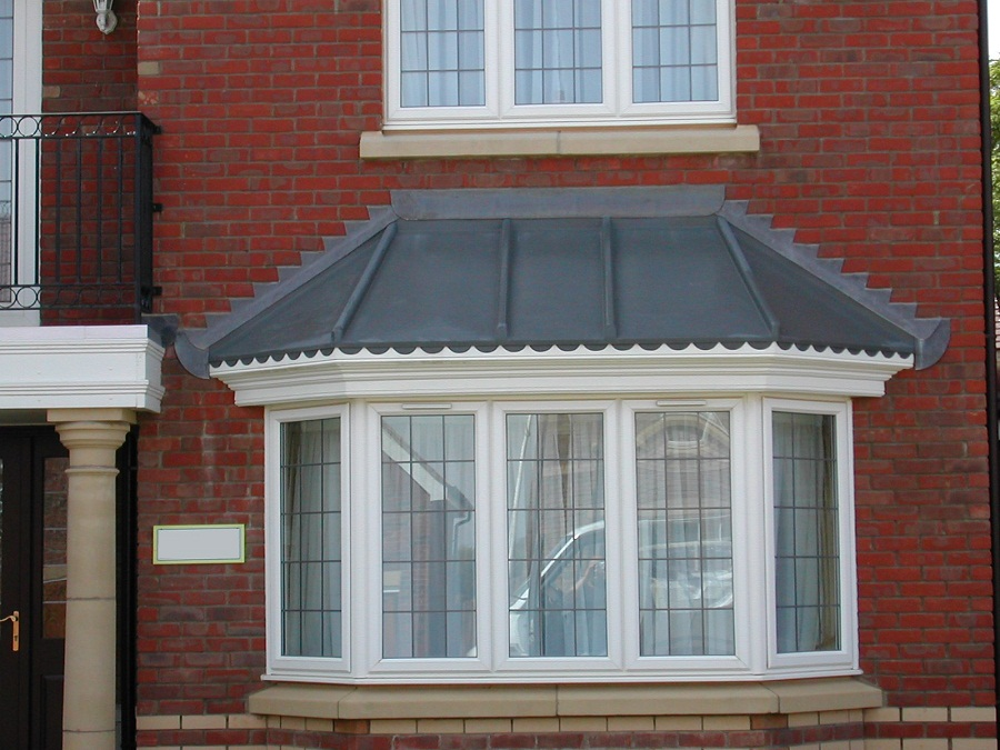 Image of: Bay Window Roof Exterior