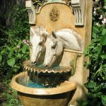 Beautiful Backyard Drinking Fountain