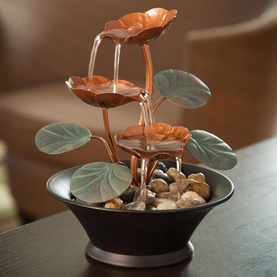Image of: Beautiful Battery Operated Fountain