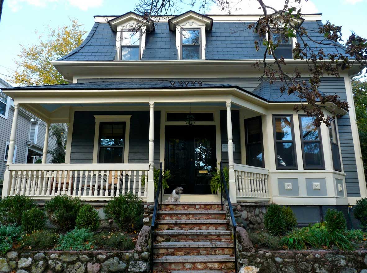 Image of: Behr Roof Paint Blue