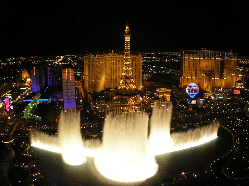 Image of: Bellagio Water Fountain Bubblers