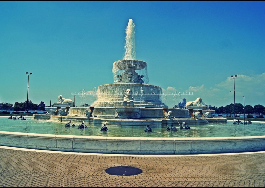 Image of: Belle Isle Fountain Avenue