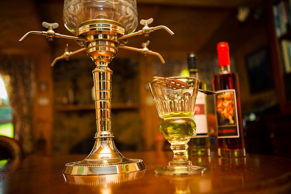 Image of: Best Absinthe Fountain Set