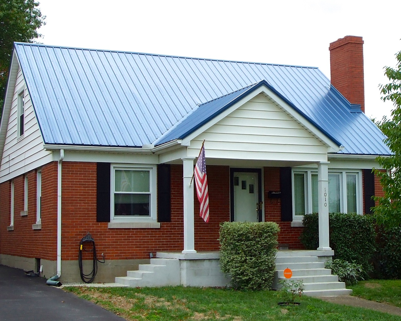 Best Blue Metal Roof