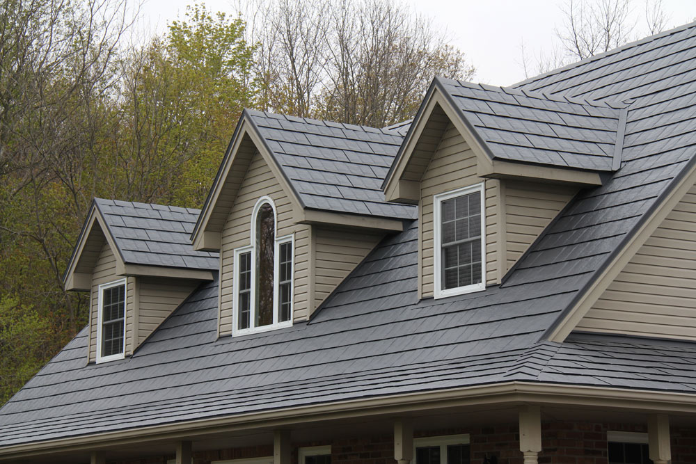 Image of: Best Charcoal Gray Metal Roof