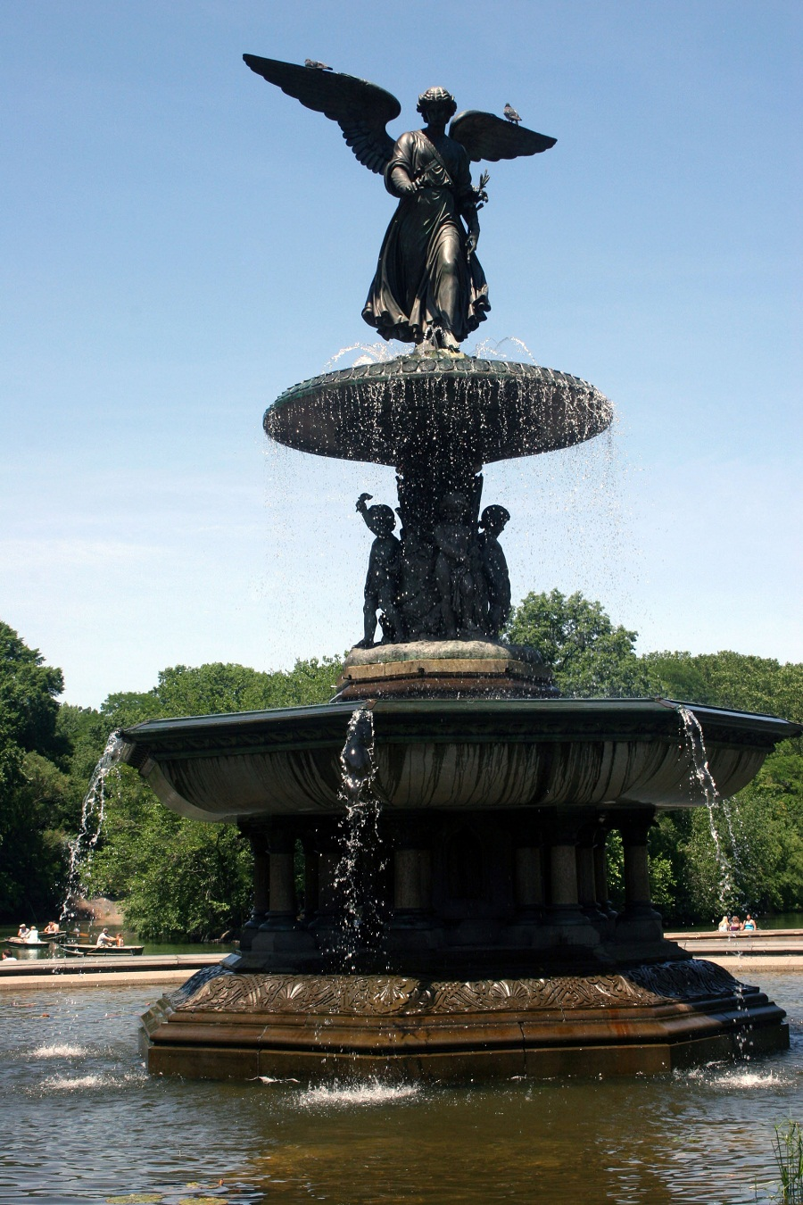 Image of: Bethesda Fountain Designs