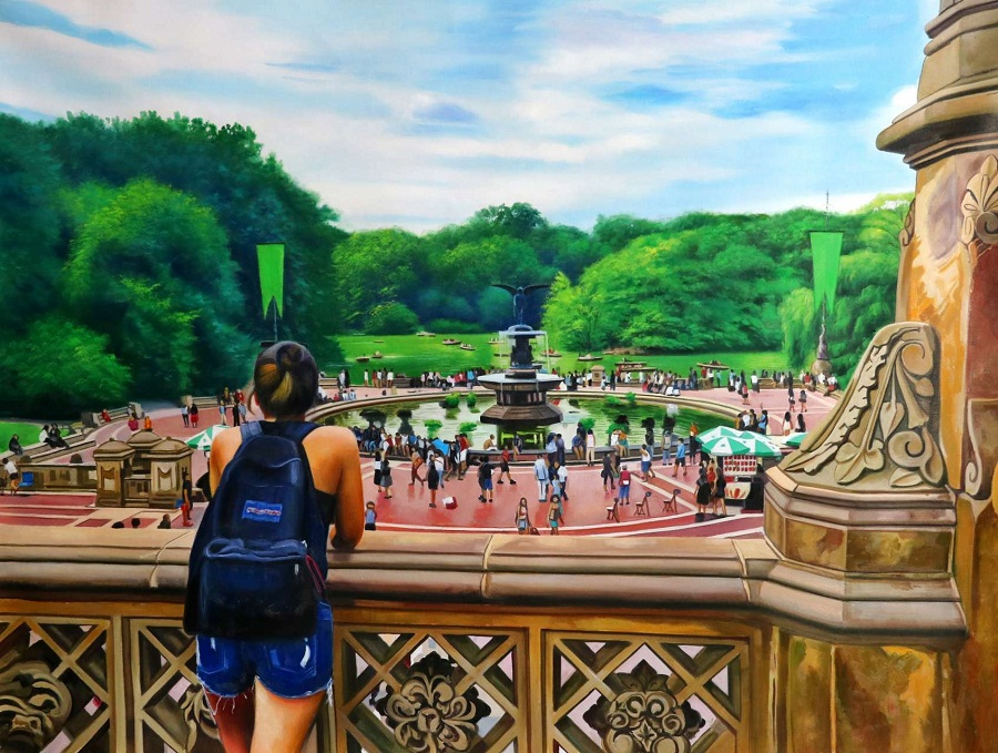 Image of: Bethesda Fountain Photo