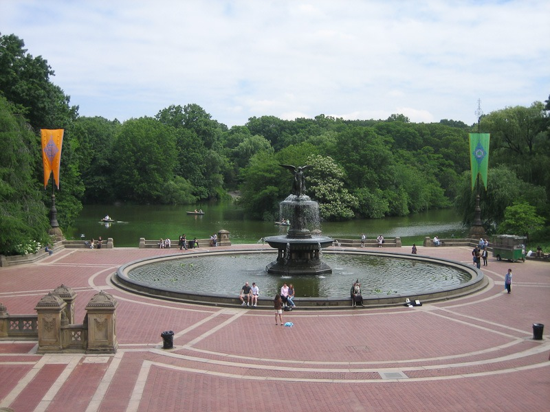 Image of: Bethesda Fountain and Terrace