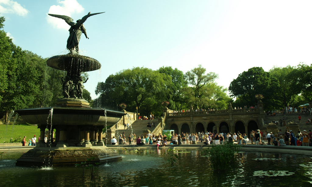 Image of: Bethesda Fountain in Central Park