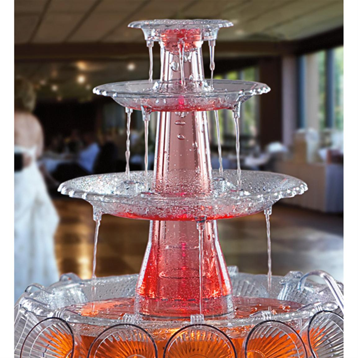 Image of: Beverage Fountain Ideas