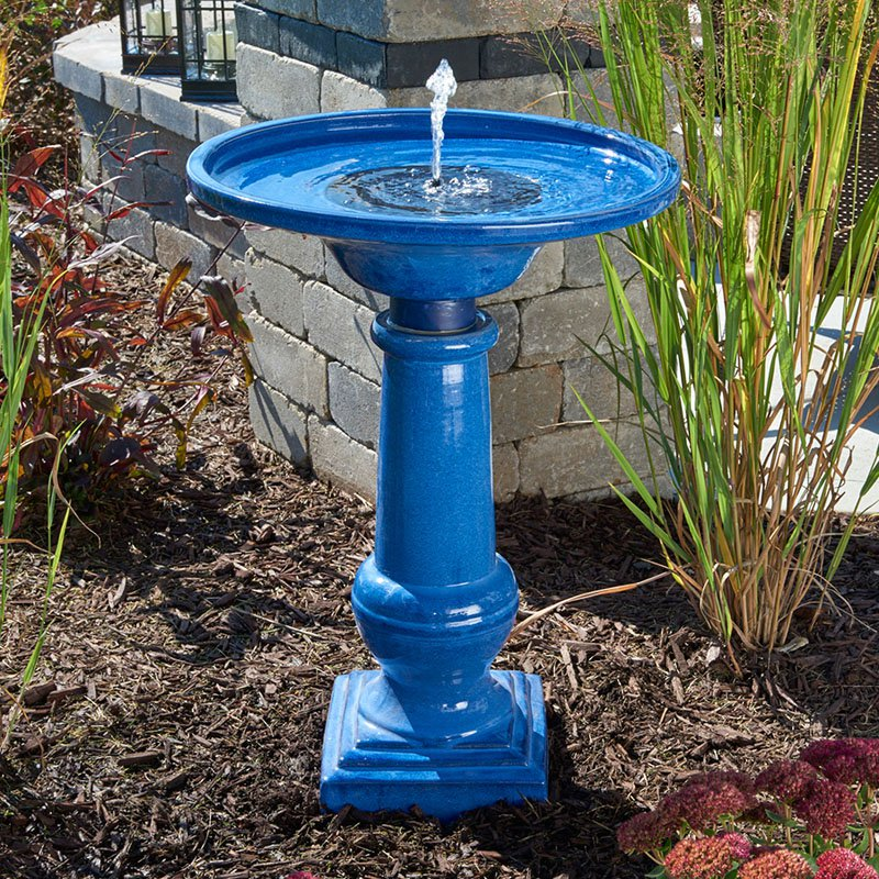 Image of: Bird Bath Fountain Design
