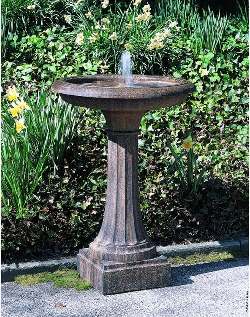 Image of: Bird Bath Fountain Small