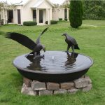 Bird Fountains Solar Power