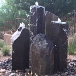 Black Basalt Column Fountain