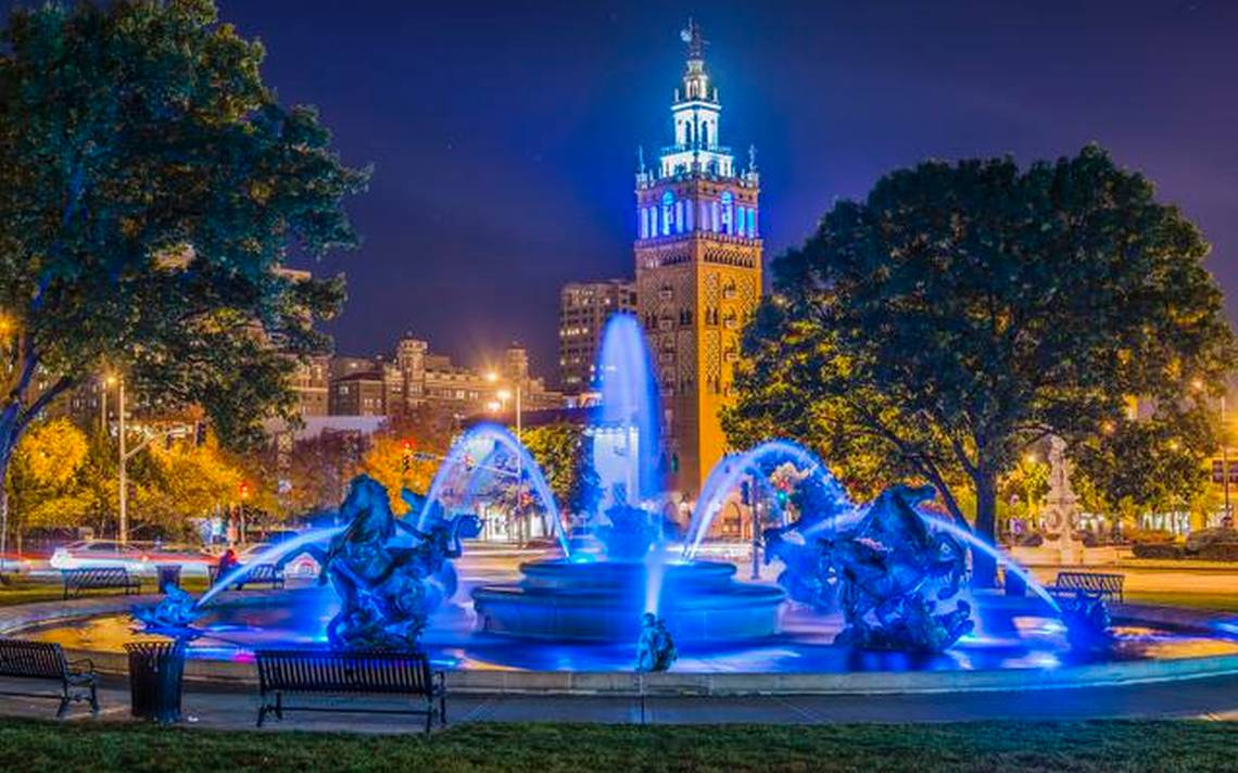 Image of: Blue Fountain Style