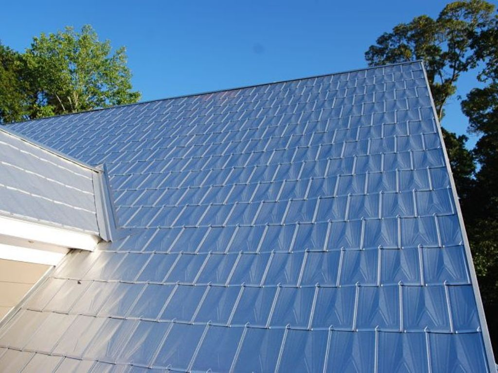 Image of: Blue Roof Shingles Colors