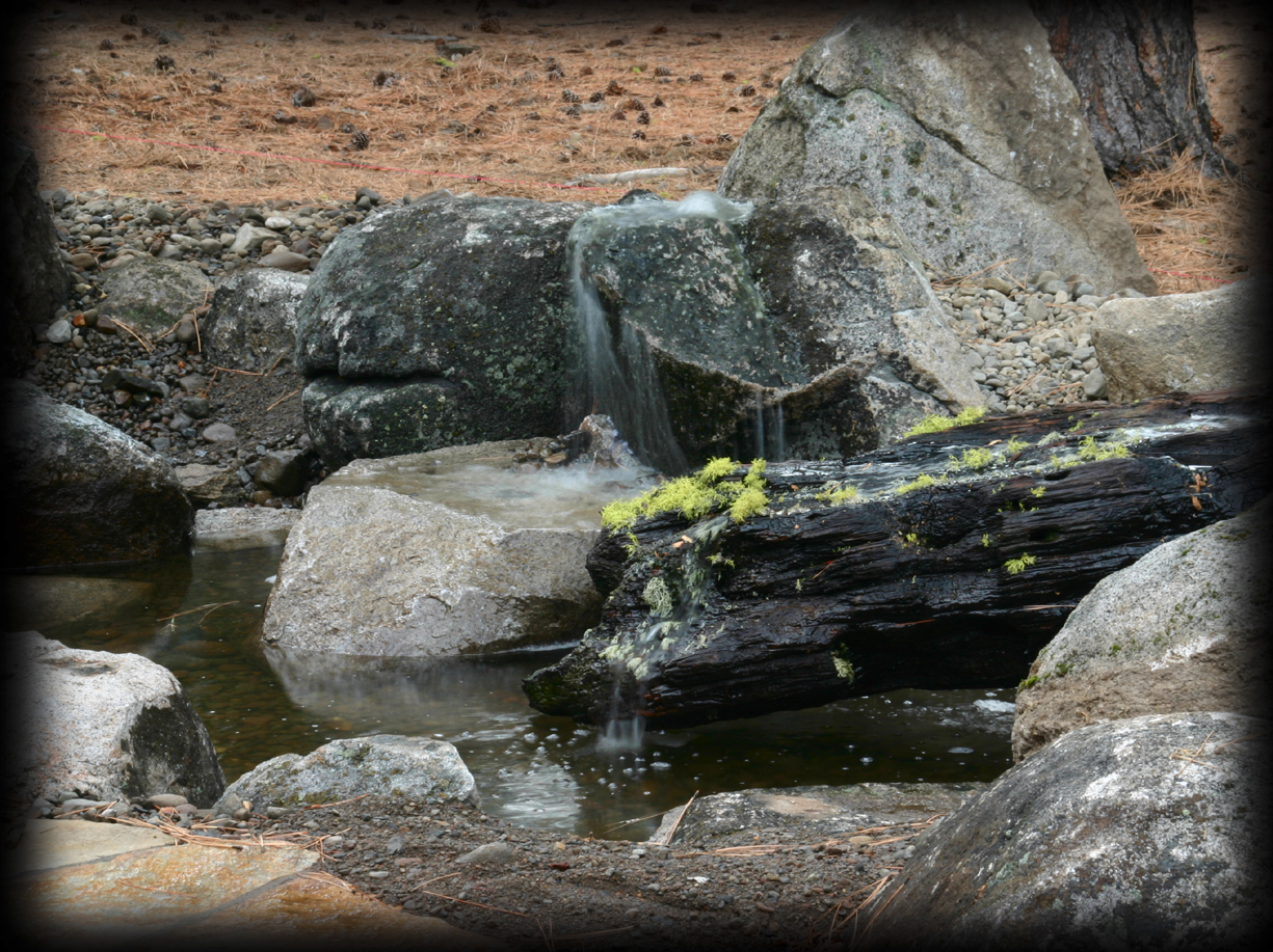 Image of: Boulder Fountain Style