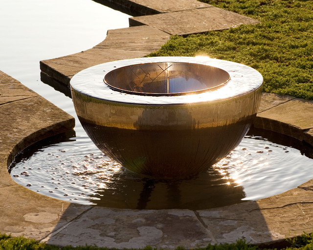 Image of: Bowl Contemporary Fountains