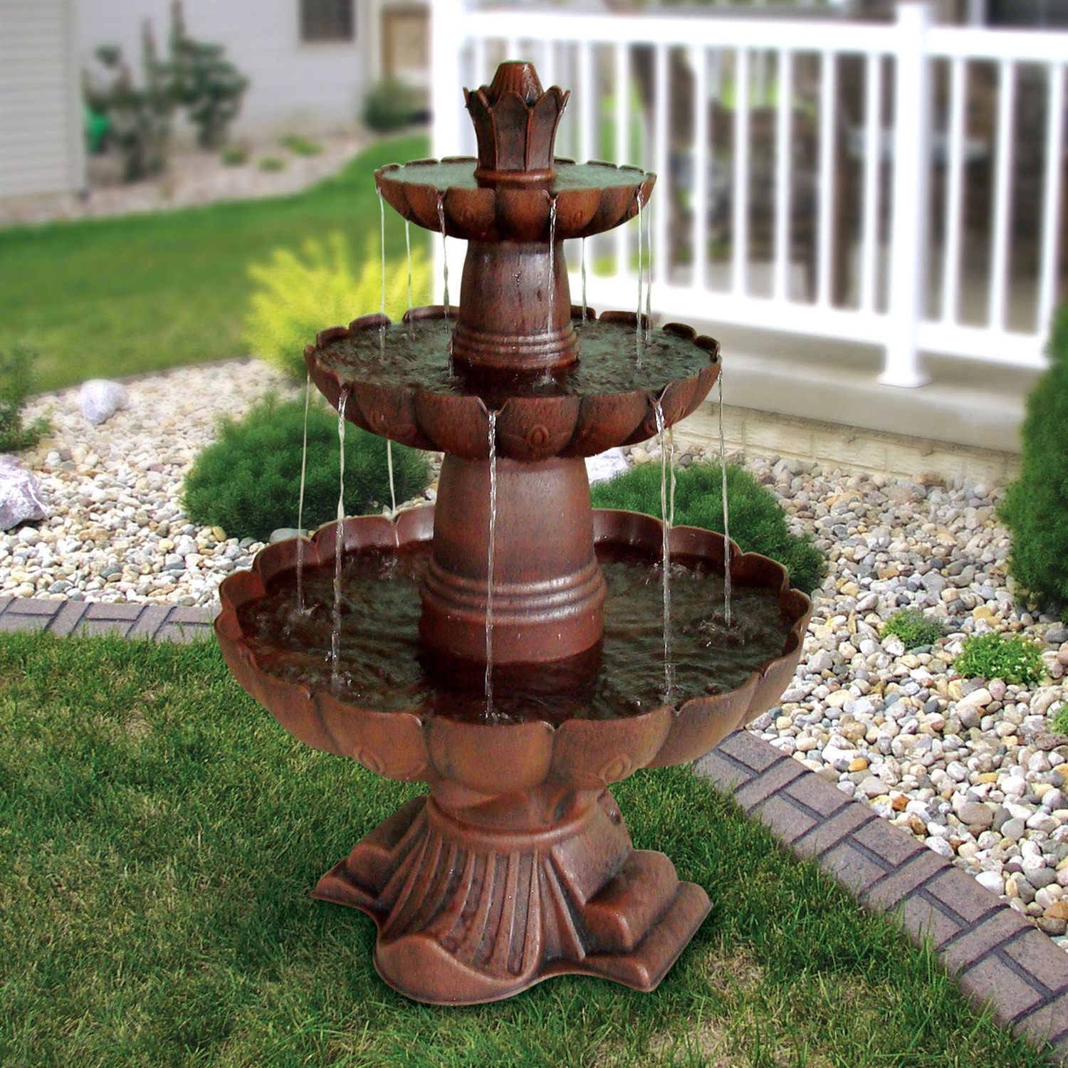 Image of: Bronze Fountains Garden