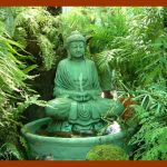 Buddha Outdoor Solar Fountain