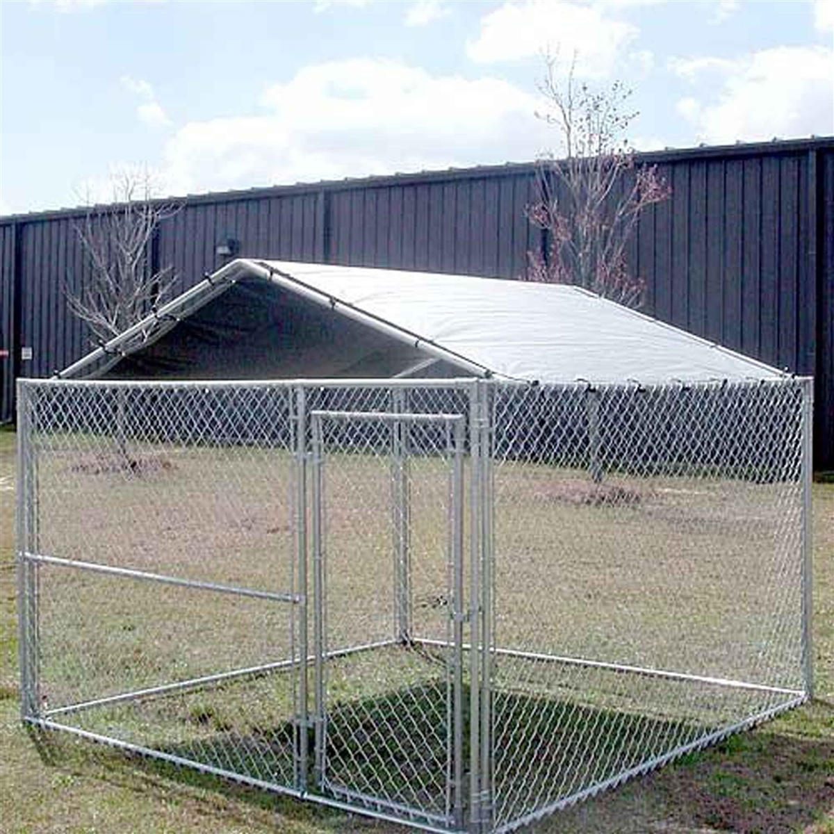 Build 10x10 Dog Kennel Roof