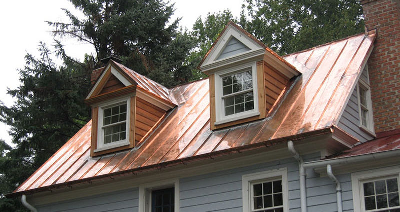 Build Copper Metal Roof