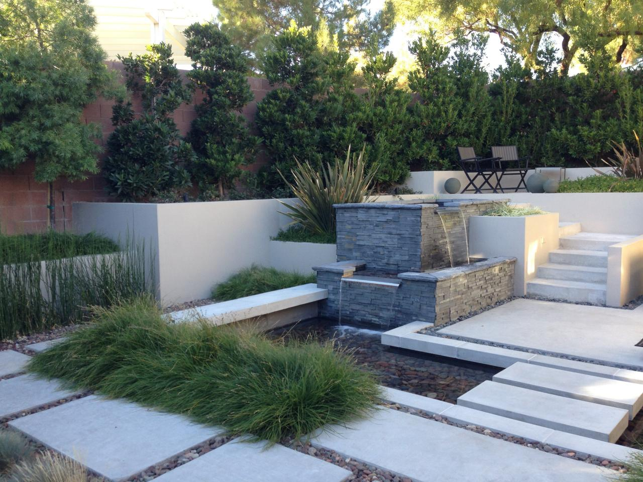 Image of: Build Courtyard Fountains
