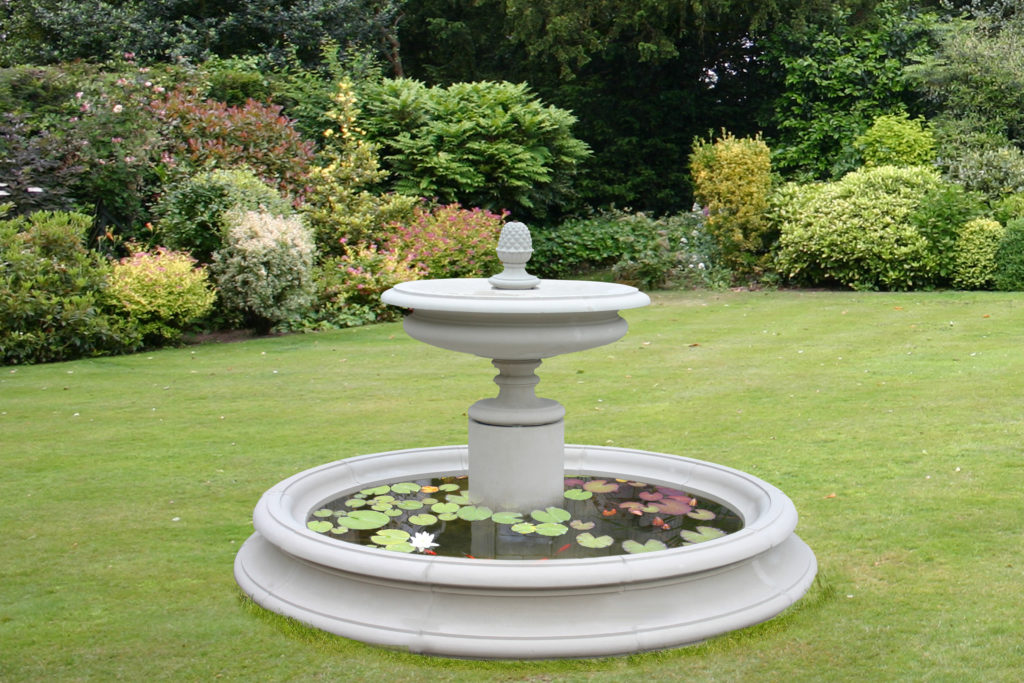 Image of: Build Diy Garden Fountain