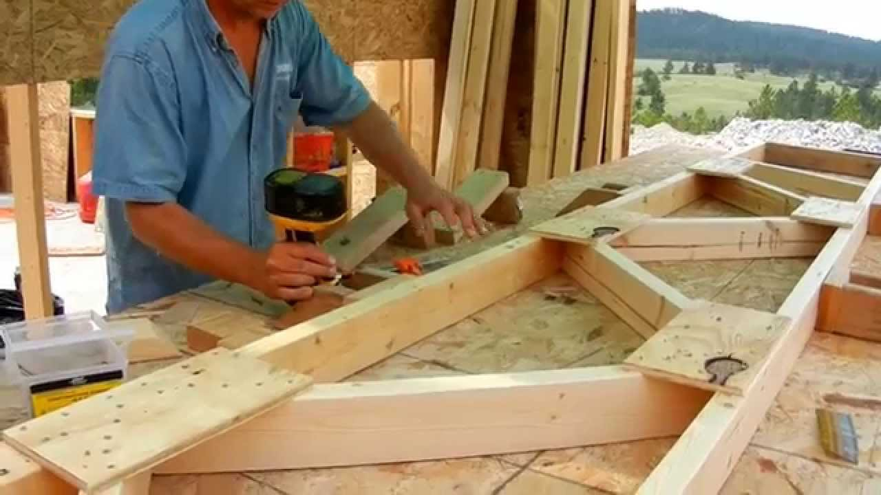 Image of: Building Canvas Roof