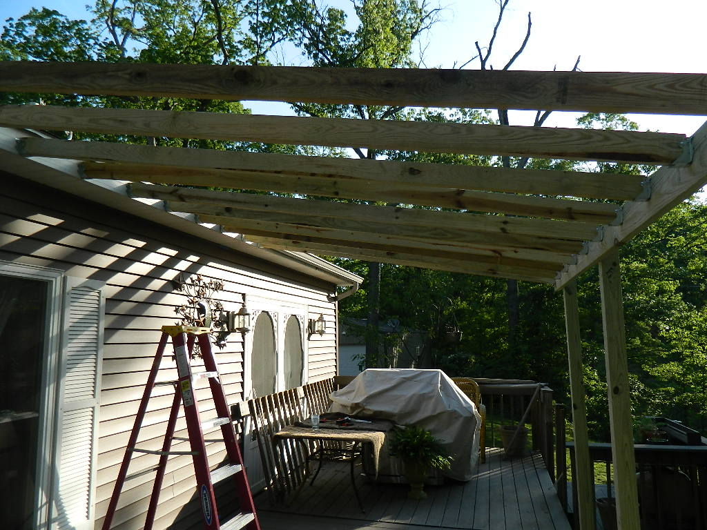 Building a Roof Over a Deck Designs