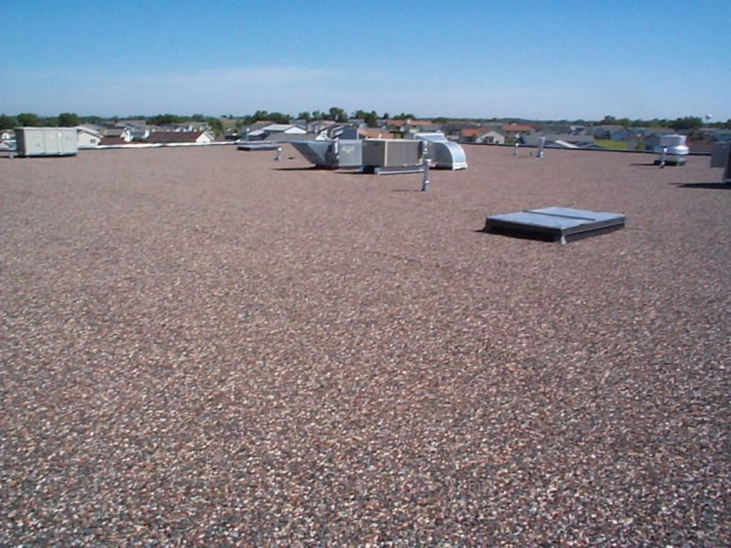 Image of: Built Up Roof without Gravel