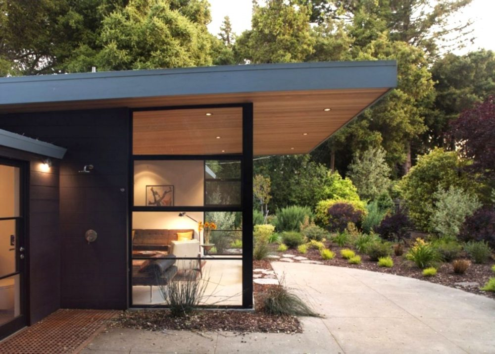 Image of: Cantilever Roof Porch