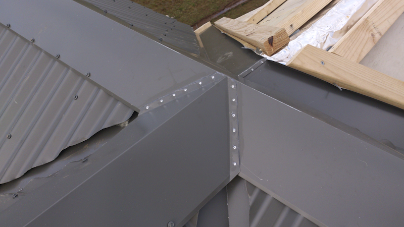 Image of: Cap Roofing Diy