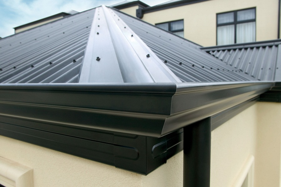 Image of: Cap Roofing Style