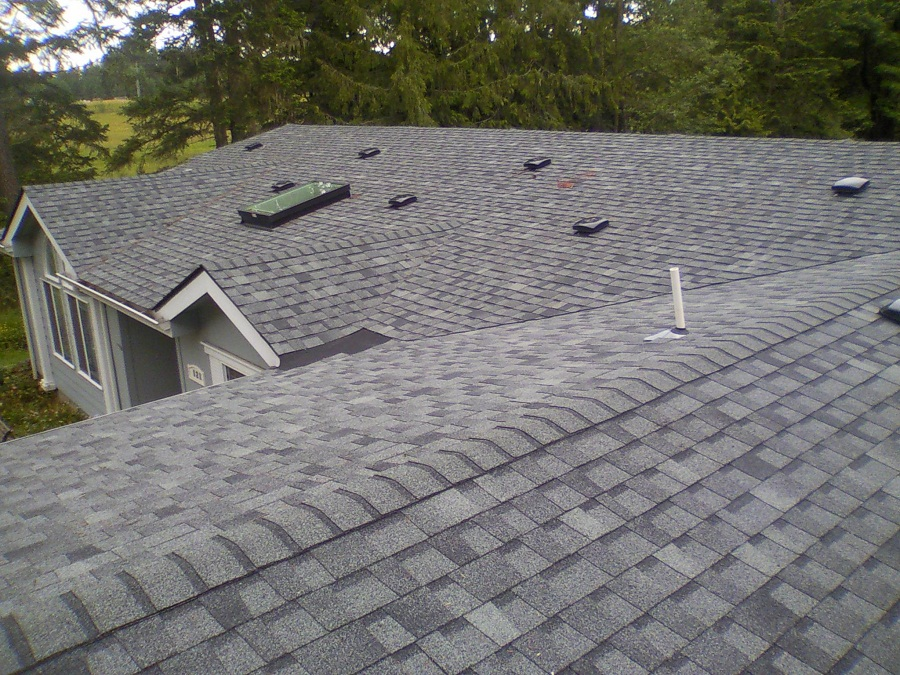 Cap Sheet Roofing House