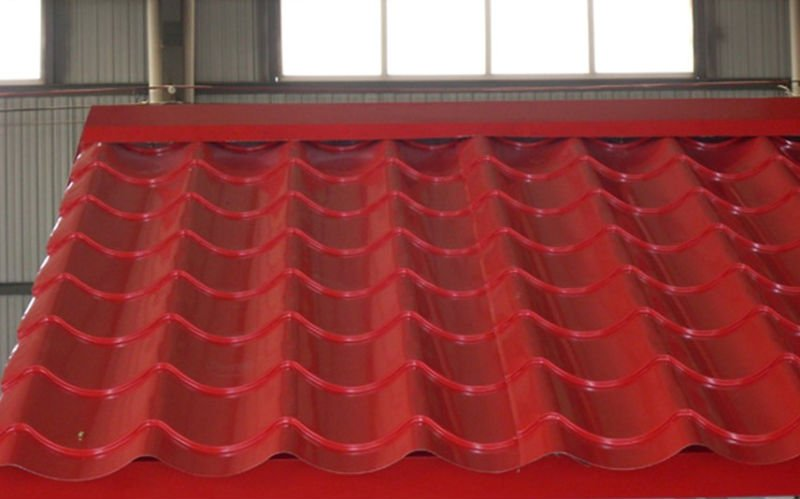Image of: Cap Sheet Roofing in Red