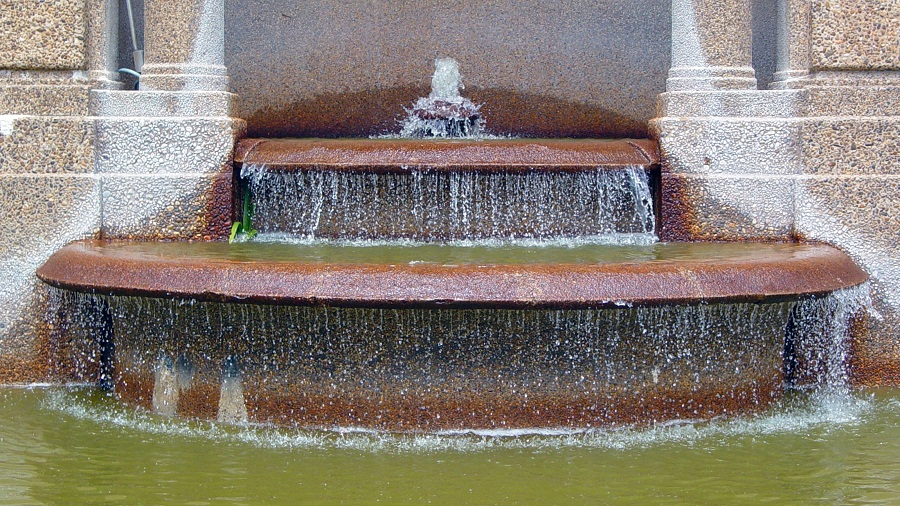 Image of: Cascading Fountain Designs