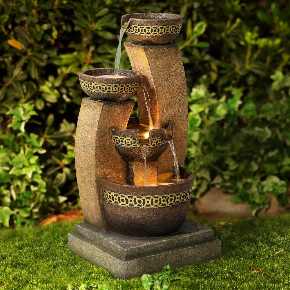 Image of: Cascading Fountain Garden
